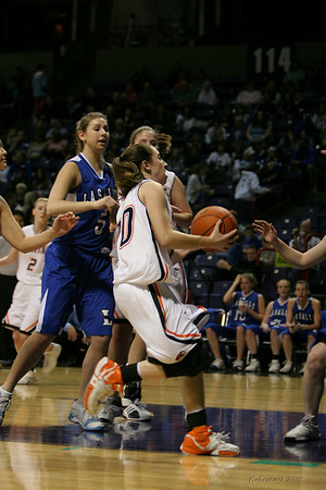 2007 State 2B Girls - Napavine vs LaSalle
