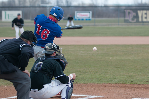Hanover vs. Defiance (OH.) DH 04/02/2011
