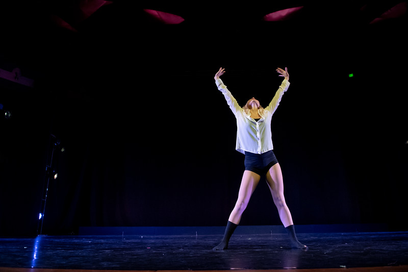 """Before We Fall,"" choreographed by Jeselle Cantu, was performed by Hayley Davison in the fall 2018 Island Dance Demo."