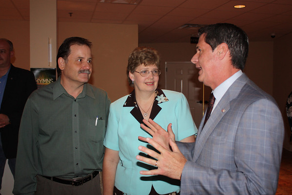 Sen. Vitter at Greenwell Springs Bapt 8-15-10