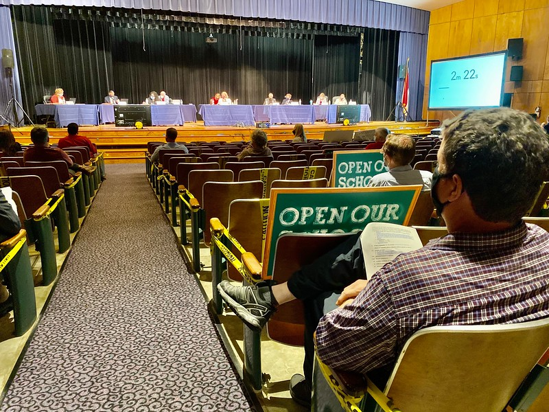 Moore County Board of Education Meeting