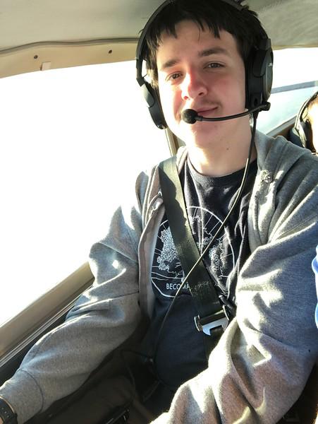 Flying with Evan Riker
