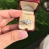 2.23ct Old European Cut Diamond Edwardian Solitaire GIA I VS1 22