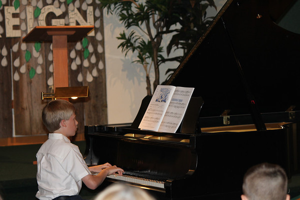 Matt's piano recital 6-11-11