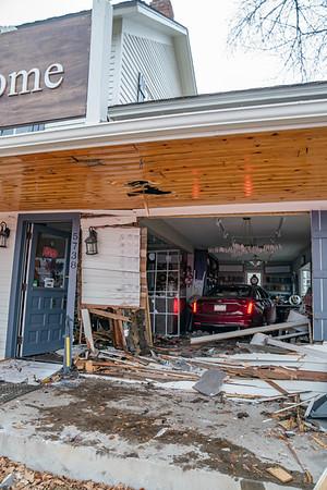 Rapp Street Car vs. Building