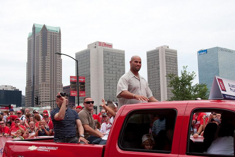 "Albert Pujols, Cardinals, 2009 MLB All Star Game ""Red Carpet Show"", St. Louis, MO"