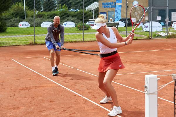 Clara Tauson, ITF Sandefjord Open 2019