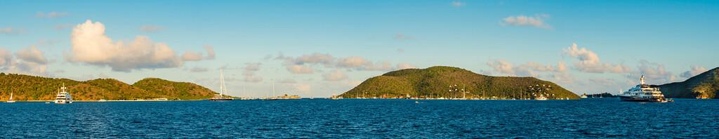 North Sound, BVI Panorama