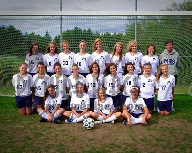 MHS Girls Soccer 2010-2011