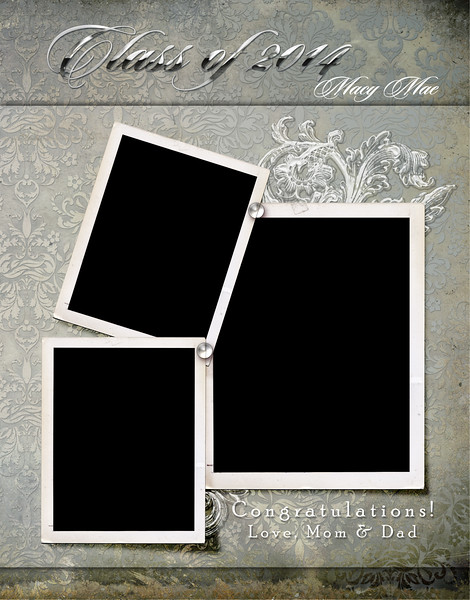 Macy Mae - Full Page Template