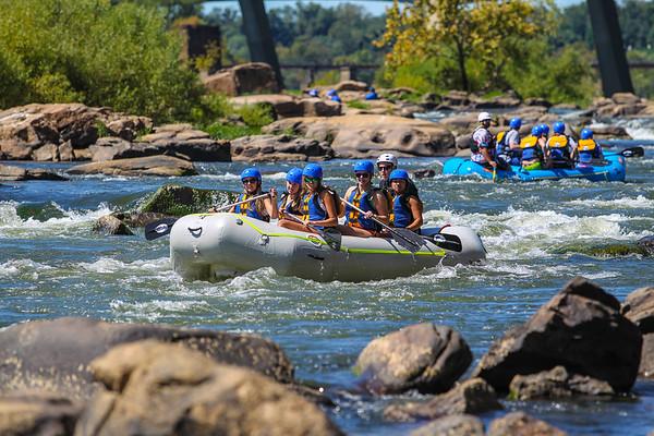 James River 9-14-13 River City Rafting