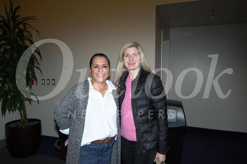 Annette Hanks and Holly Larsen