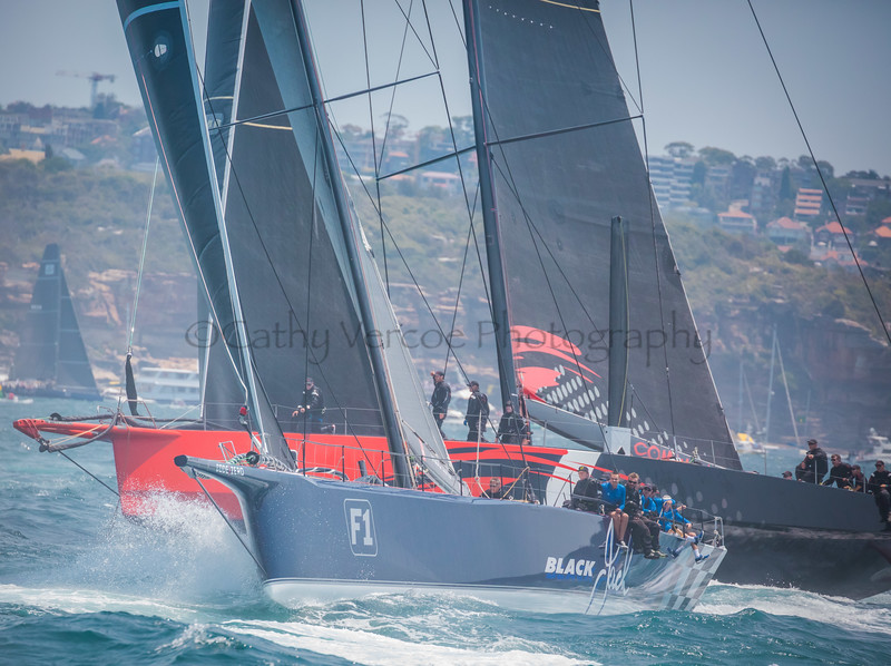 In the 2019 Rolex Sydney Hobart Yacht Race by Cathy Vercoe. LuvMyBoat.com
