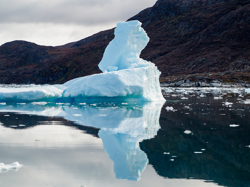Iceberg near Eqi Glacier