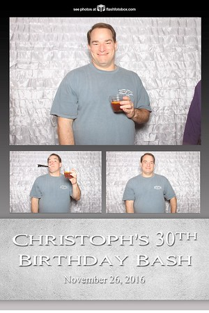 Christoph's 30th Birthday Bash - November 26, 2016