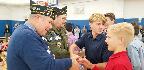 WMS Veterans Day Community Meeting - November 8, 2019