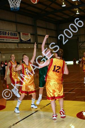 U/14W Grand Final - Comets Vs Gosford 19-2-06