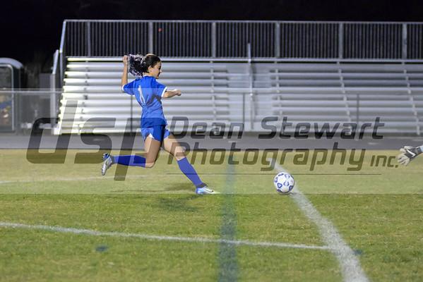 Girls JV Soccer 1-17-19