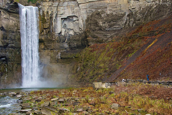 Taughannock Falls State Park near Ithaca, New York.