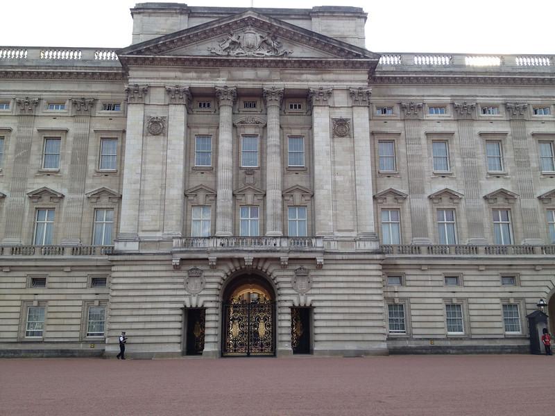 Buckingham Palace - sort of intimidating