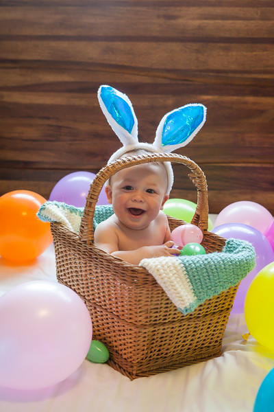 Luca's First Easter