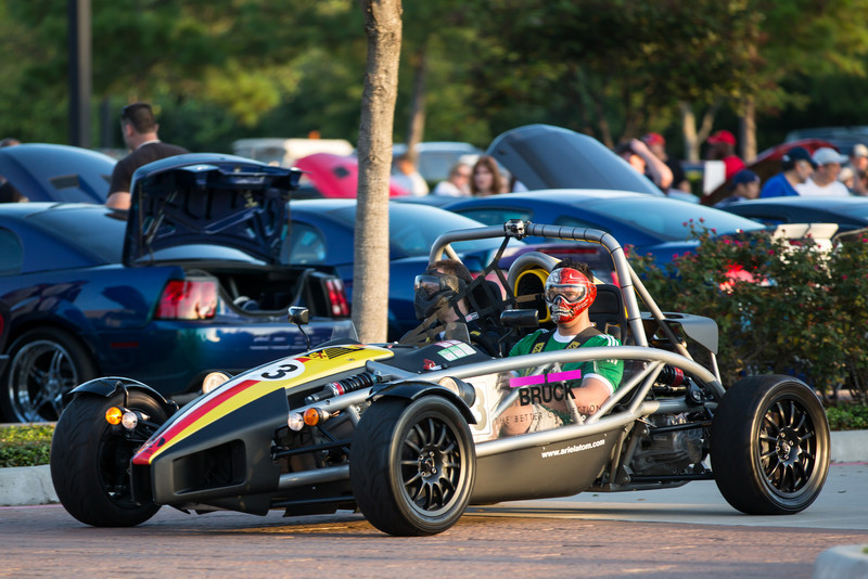 Ariel Atom at Cars and Coffee Houston, Texas Vintage Park - www.KeithHicksPhotography.com