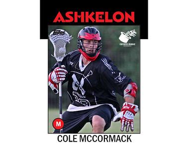 Ashkelon Cole McCormack (2013)
