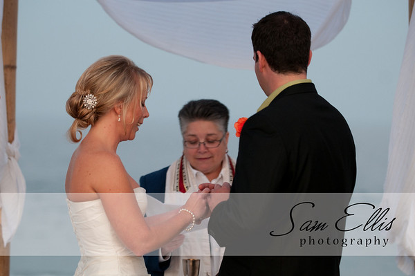 Jennifer and Greg ceremony