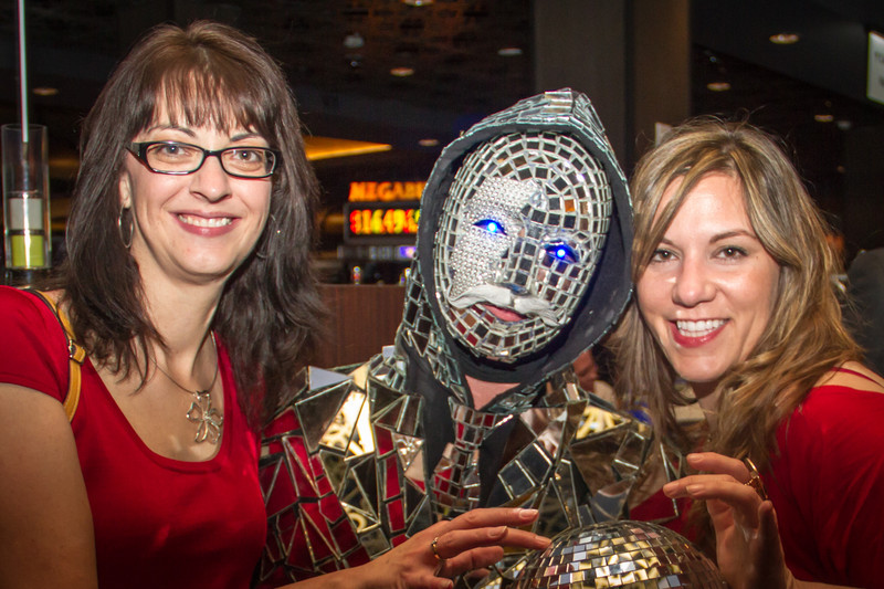 Sandra, Disco Ball man, Marcy