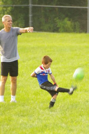 KDS Soccer Practice 8-24