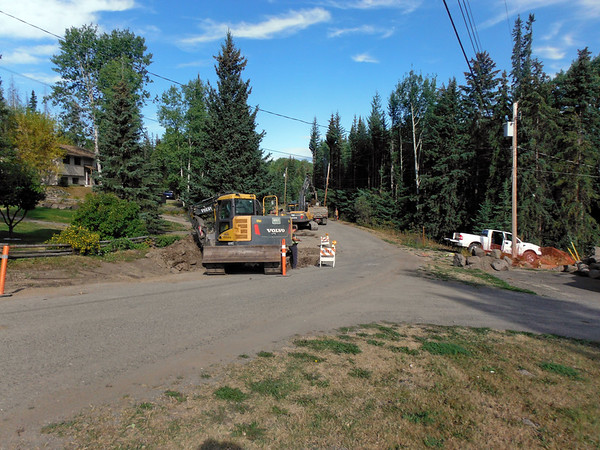 Wolfe Road Water System Upgrade, 100 Mile House
