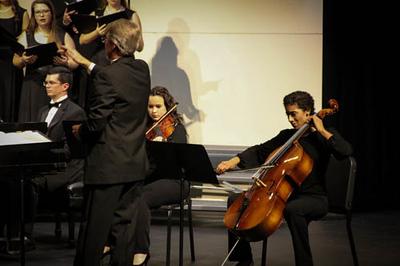 Gardner-Webb University Music Department Choir Concert