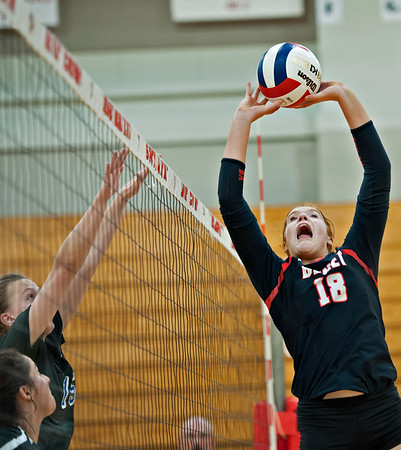 Benet volleyball vs. St. Charles North