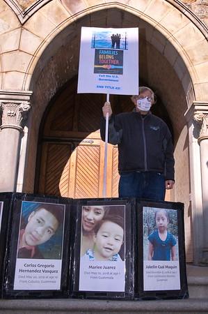 05 May 2021 San Francisco:  Vigil for Refugee Rights