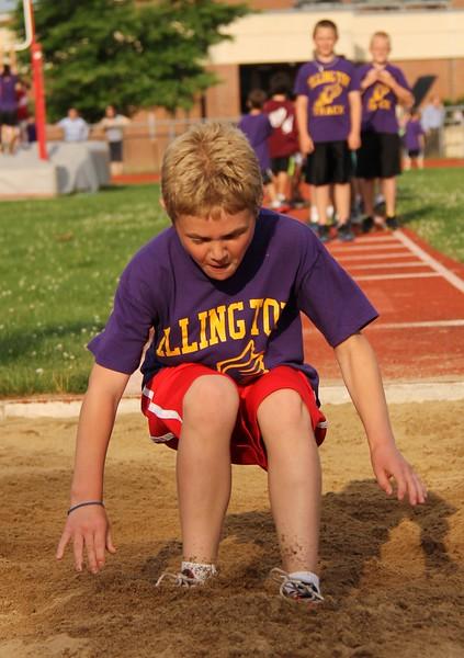 Ellington Youth Track Club Spring 2012