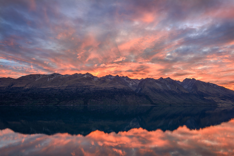 Lake Wakatipu Fire