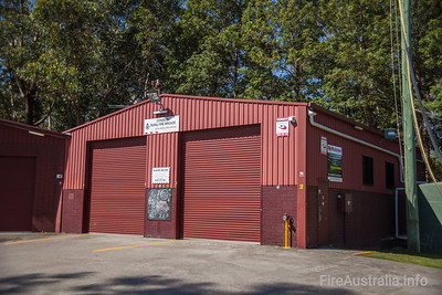 NSWRFS Cooranbong Fire Station.  Lake Macquarie District, The Lakes Zone. Joint location with local SES  Photo December 2013