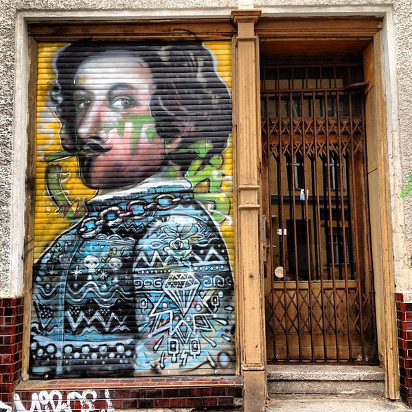 Shakespeare? Favorite doorway candidate #8, Berlin