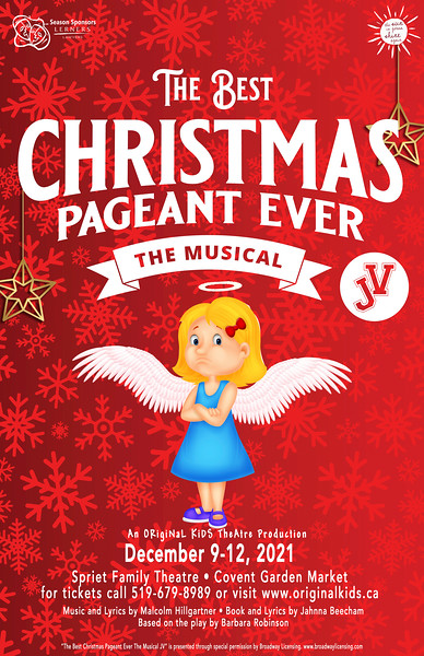 Fall 2021 - The Best Christmas Pageant Ever! The Musical