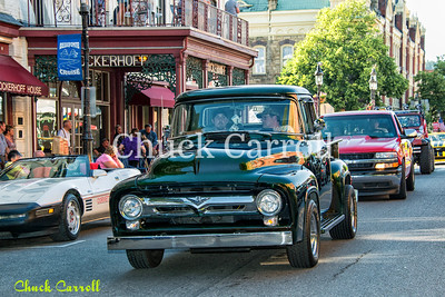 THE HISTORIC BELLEFONTE CRUISE -- Friday Night -June 14, 2013