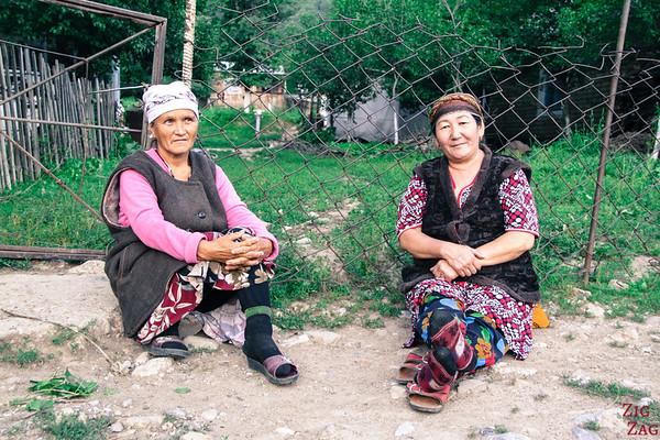 Portrait Kyrgyzstan: Arkit woman