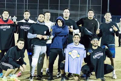 Intramural Outdoor Soccer Champ Night Fall 2018