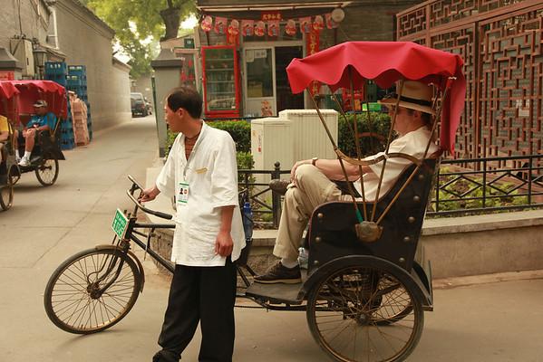 Hutong, Rickshaws