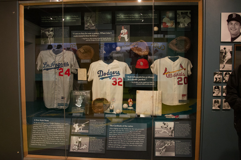 Great teams of the 1960s (Dodgers and Cardinals) -- A trip to the Baseball Hall of Fame, Cooperstown, NY, June 2014
