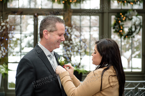 Janeice and David Tie The Knot