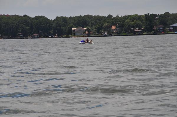 Boating Ashley & Kayman