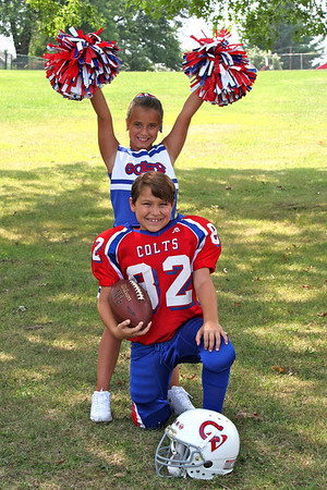 2010 FOOTBALL AND CHEER