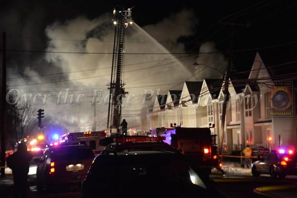 Albertson Signal 10 Building Fire 01/24/2014