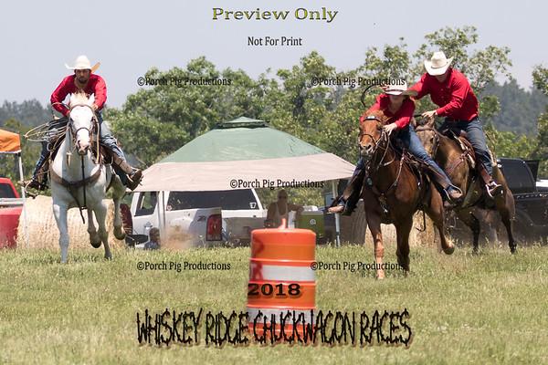 pre Show Horse Race, Mule Race, Costume,  Bale Race