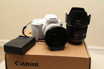 Canon SL2 and 35mm f2 IS